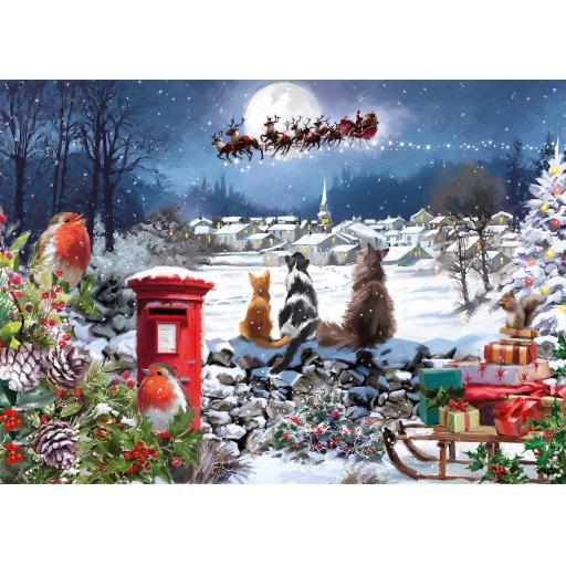 Rectangular Jigsaw - Christmas Delivery