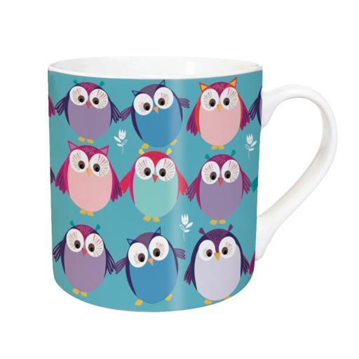 Tarka Mugs - Owl Party