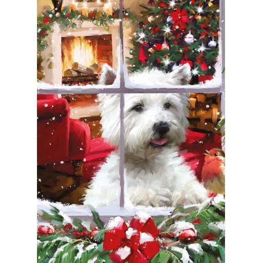 Rectangular Jigsaw - Waiting For Santa