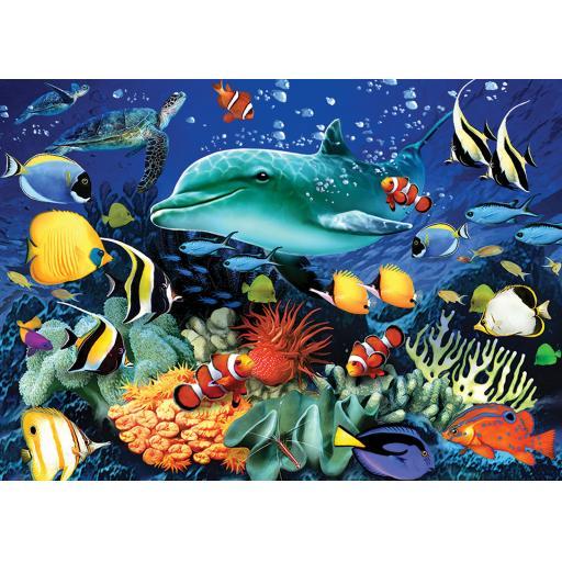 Rectangular Jigsaw - Coral Reef