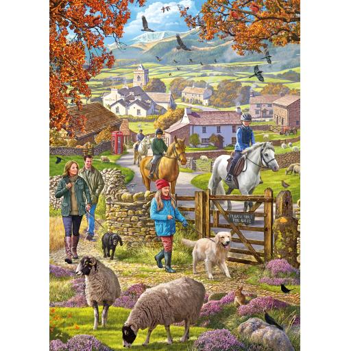 Rectangular Jigsaw - Autumn Walk