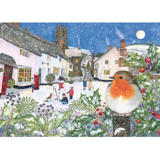 Rectangular Jigsaw - Village Robin