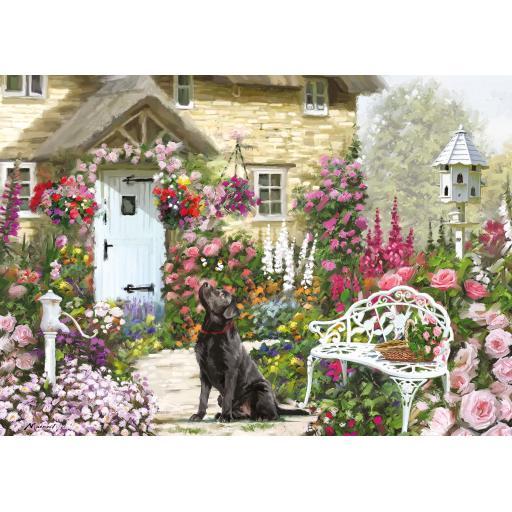500 XL Piece Jigsaw - Cottage Garden