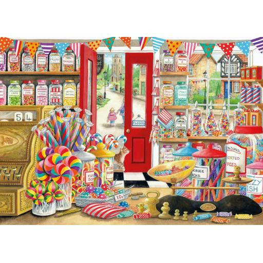 Rectangular Jigsaw - Ye Olde Sweet Shop