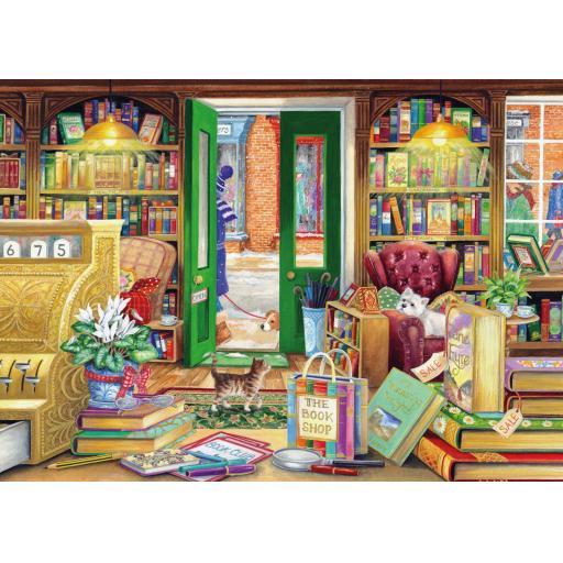Rectangular Jigsaw - The Book Store