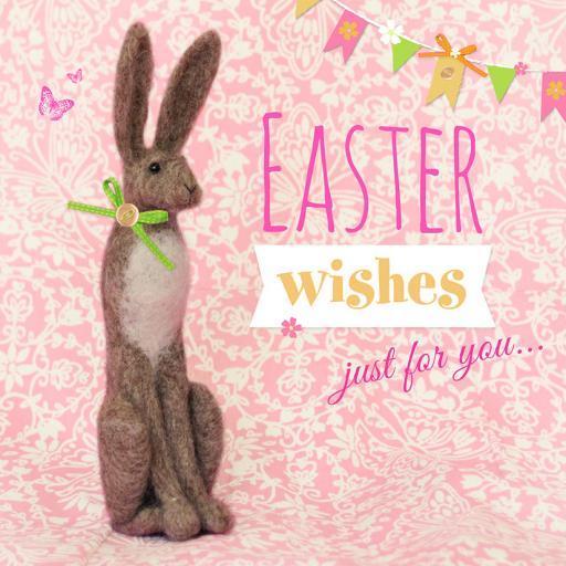 Easter Card Pack - Felt Hare