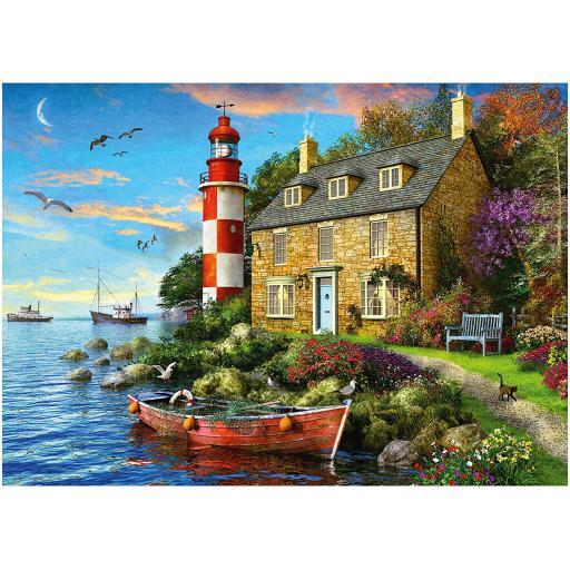 Lighthouse Keeper's Cottage 1000 Piece Jigsaw