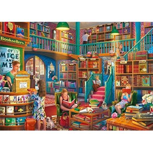 Afternoon at The Bookshop 1000 Piece Jigsaw