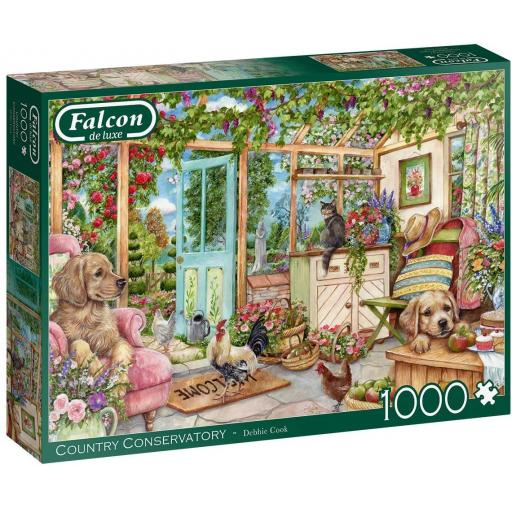 Country Conservatory 1000 Piece Jigsaw