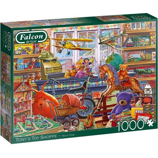 Tony's Toy Shop 1000 Piece Jigsaw