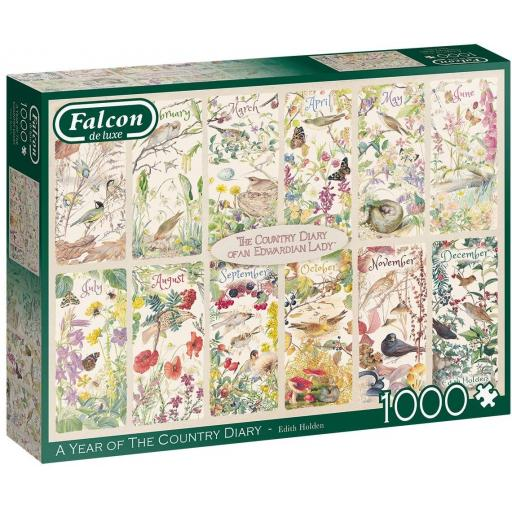 A Year of The Country Diary 1000 Piece Jigsaw