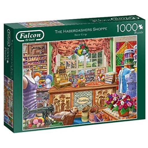 The Haberdashers Shoppe 1000 Piece Jigsaw
