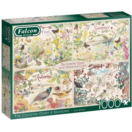 Country Diary 4 Seasons 1000 Piece Jigsaw