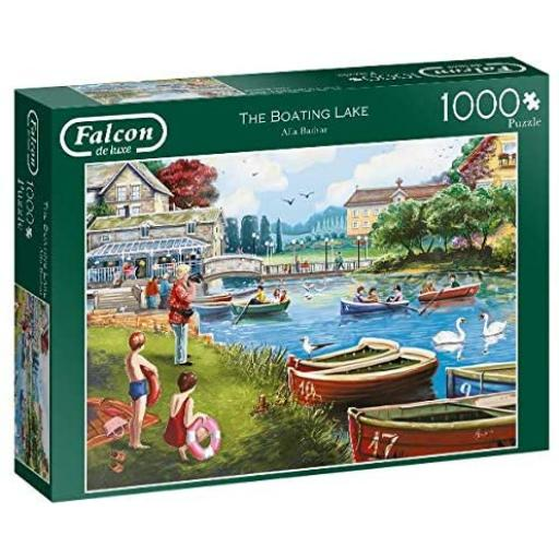 The Boating Lake 1000 Piece Jigsaw