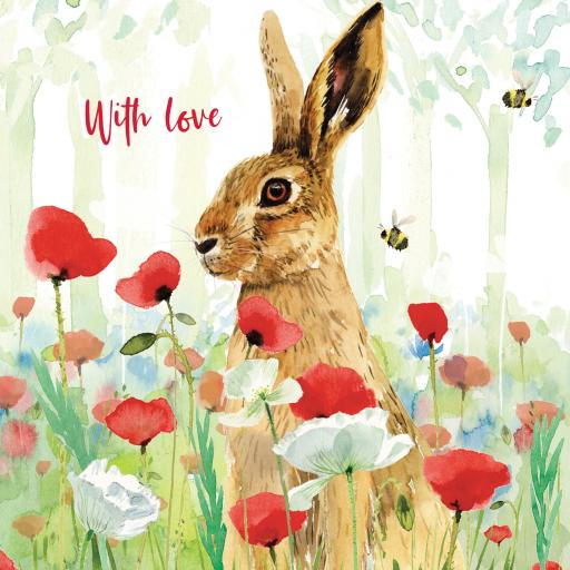 Wild & Serene Card Collection - Hare