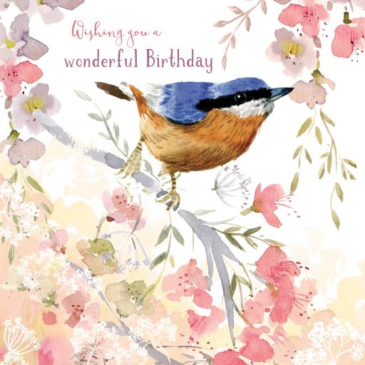 Wild & Serene Card Collection - Nuthatch
