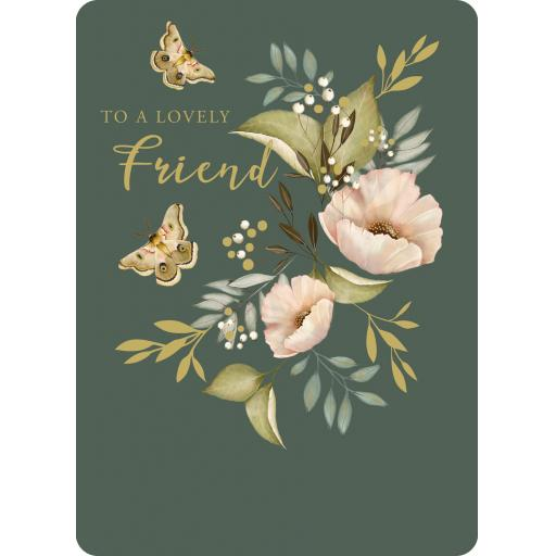 Botanical Blooms Card Collection - Soft Pinks