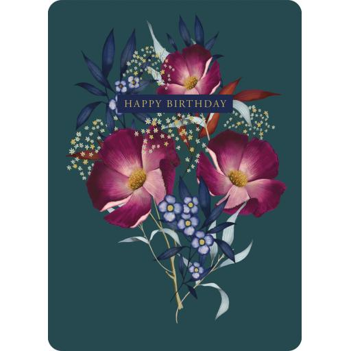 Botanical Blooms Card Collection - Pink & Blues