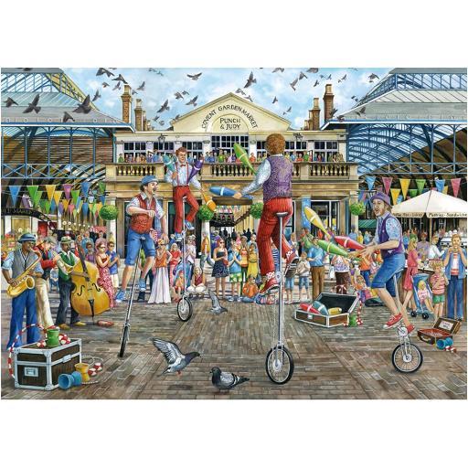 Covent Garden 500 Piece Jigsaw