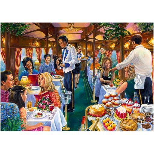 The Dinning Carriage 500 Piece Jigsaw