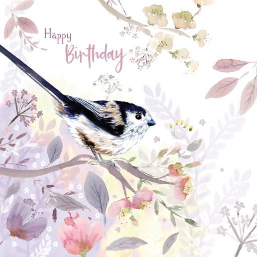 Wild & Serene Card Collection - Long Tailed Tit