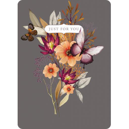 Botanical Blooms Card Collection - Orange Floral