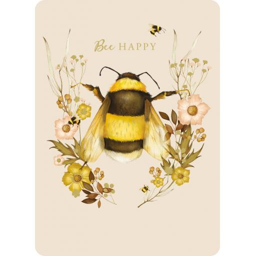 Botanical Blooms Card Collection - Bumble Bee