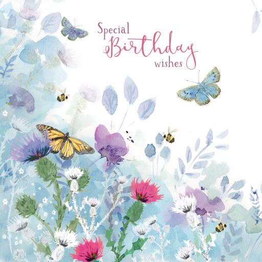 Wild & Serene Card Collection - Butterflies & Wildflowers