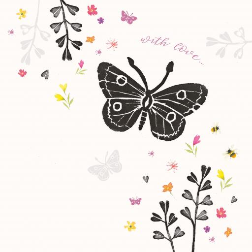 Brush & Ink Card Collection - Butterflies