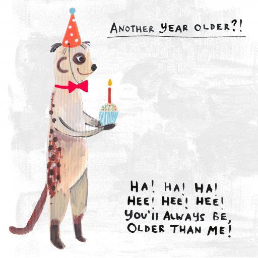 Ho-Hum Card Collection - Meerkat