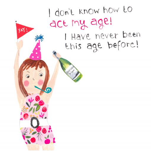 Is It Friday Yet Card Collection - My Age