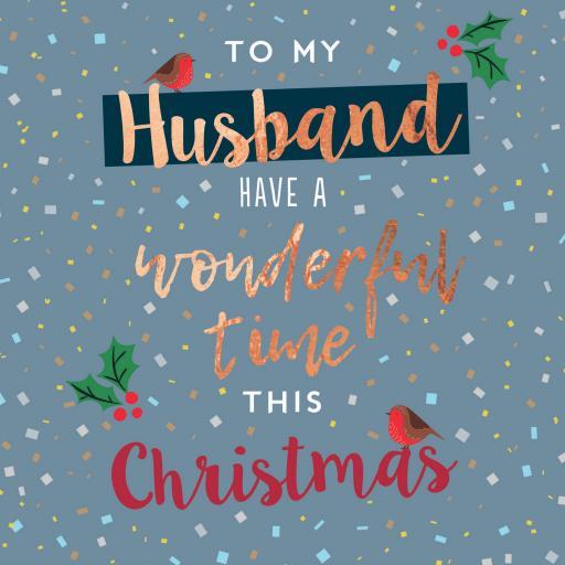 Christmas Card (Single) - Husband