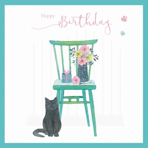 Say It With Flowers - Cat & Chair
