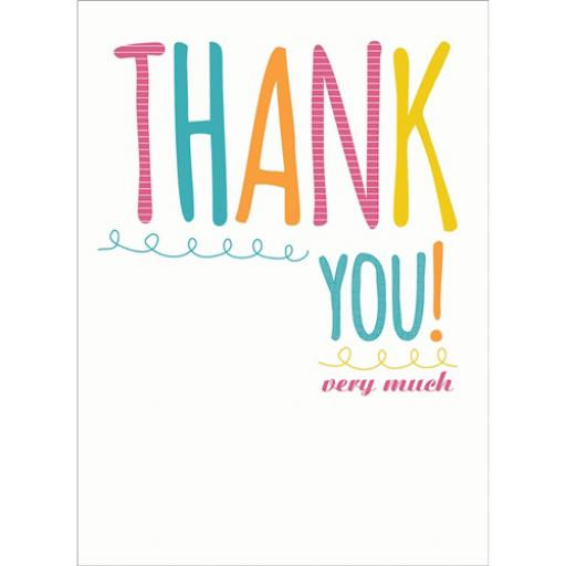 Thank You Card - Thank You Text