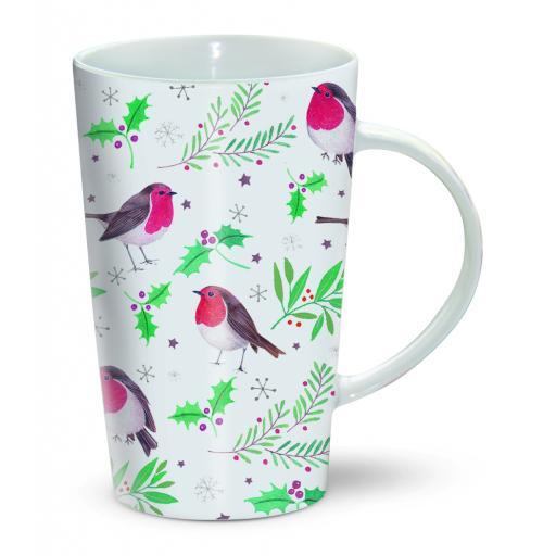 Chocolatte Mugs - Robin & Holly