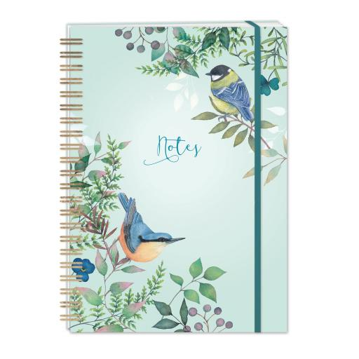 Vintage Garden Stationery - A5 Hardcover Notebook