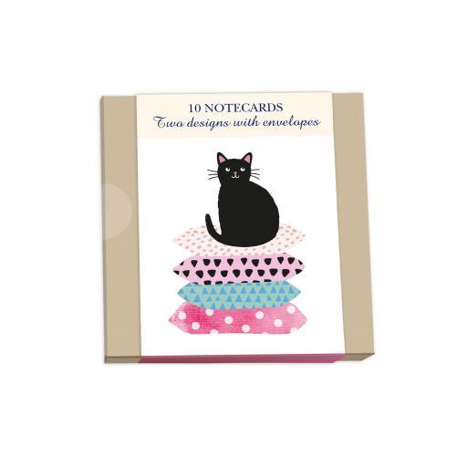 Notecard Wallets (10 Cards) - Cats & Cushions