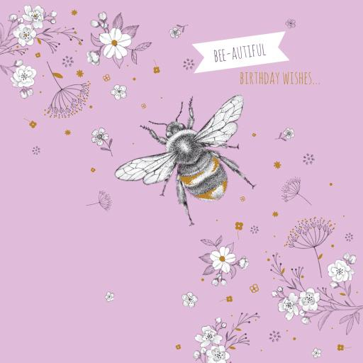 Feuille d'or Card Collection - Bee-autiful Birthday