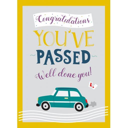 Congratulations Card - Driving Test