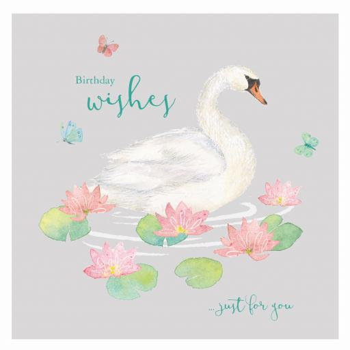 Say It With Flowers - Swan & Lillies
