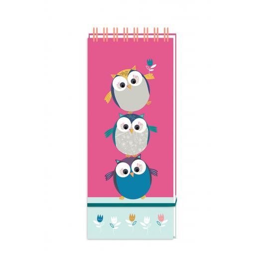 Little Owls Stationery - List Pad