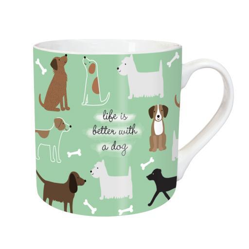 Tarka Mugs - Playful Dogs