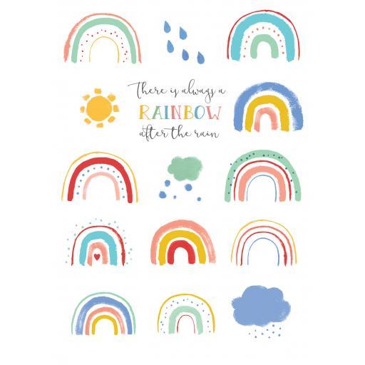 Get Well Soon Card - Always A Rainbow