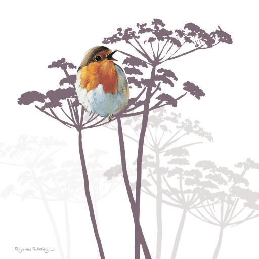 Pollyanna Pickering Countryside Collection Card - Robin