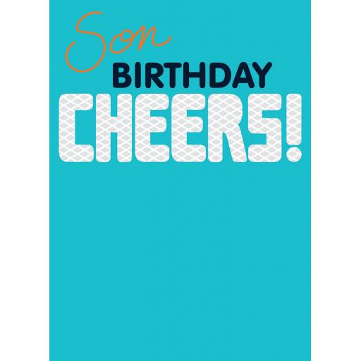 Family Circle Card - Cheers (Son)