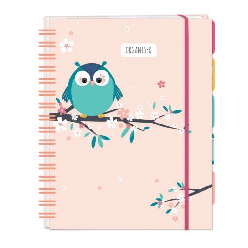 Little Owls Stationery - A5 Organiser