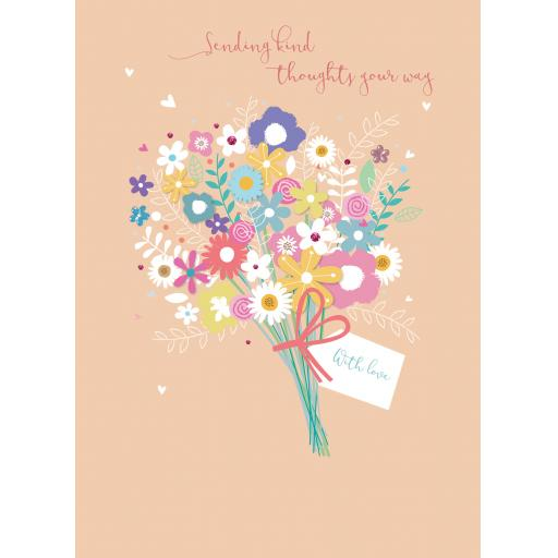 Get Well Soon Card - Floral