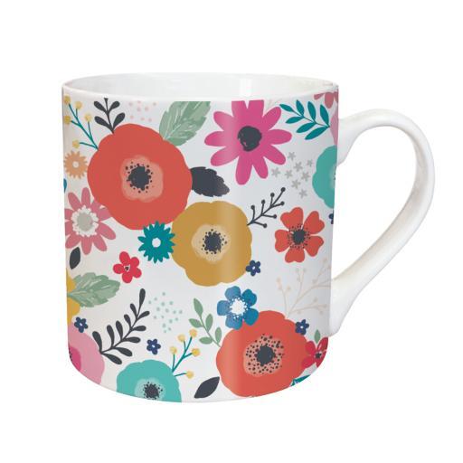 Tarka Mugs - White Floral