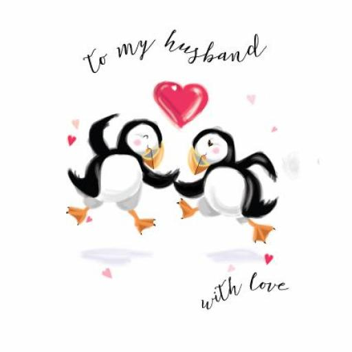 Valentines Day Card - To My Husband