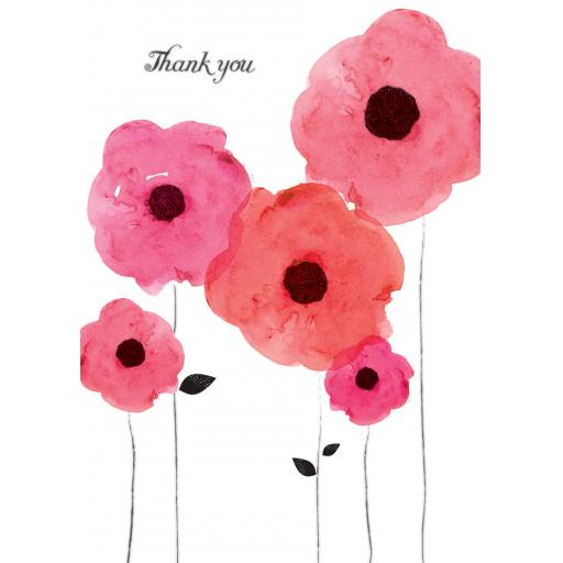 Notecard Pack - Pink Floral
